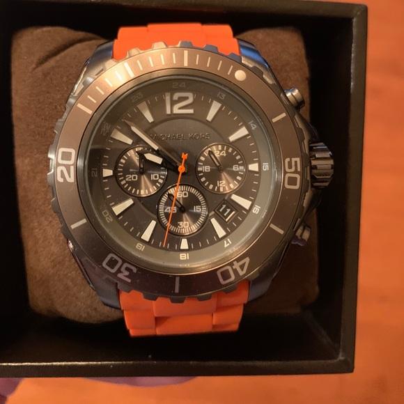 Michael Kors Drake Chronograph Watch Steel MK8234